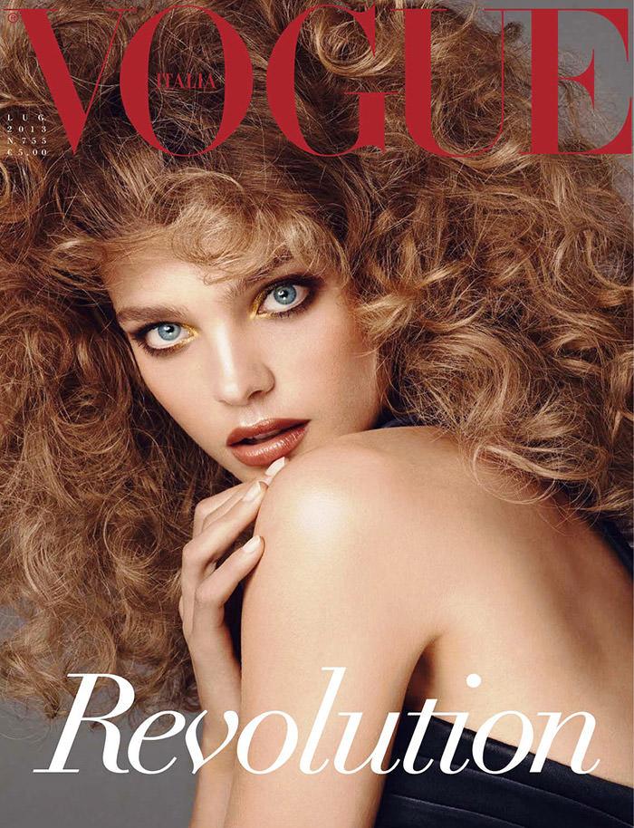 Natalia Vodianova covers Vogue Italia