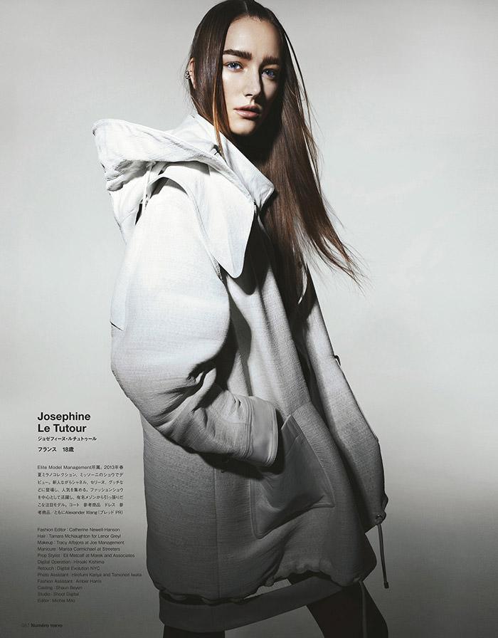 Josephine Le Tutour by Yasunari Kikuma for Numero Tokyo