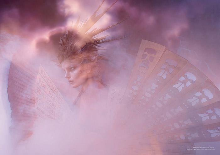 Samantha Gradoville by Warren du Preez and Nick Thornton Jones for Contributor Magazine