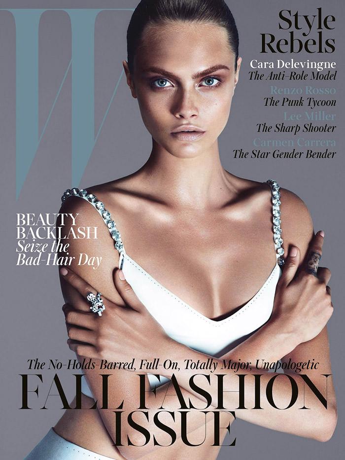 Cara Delevingne covers W Magazine