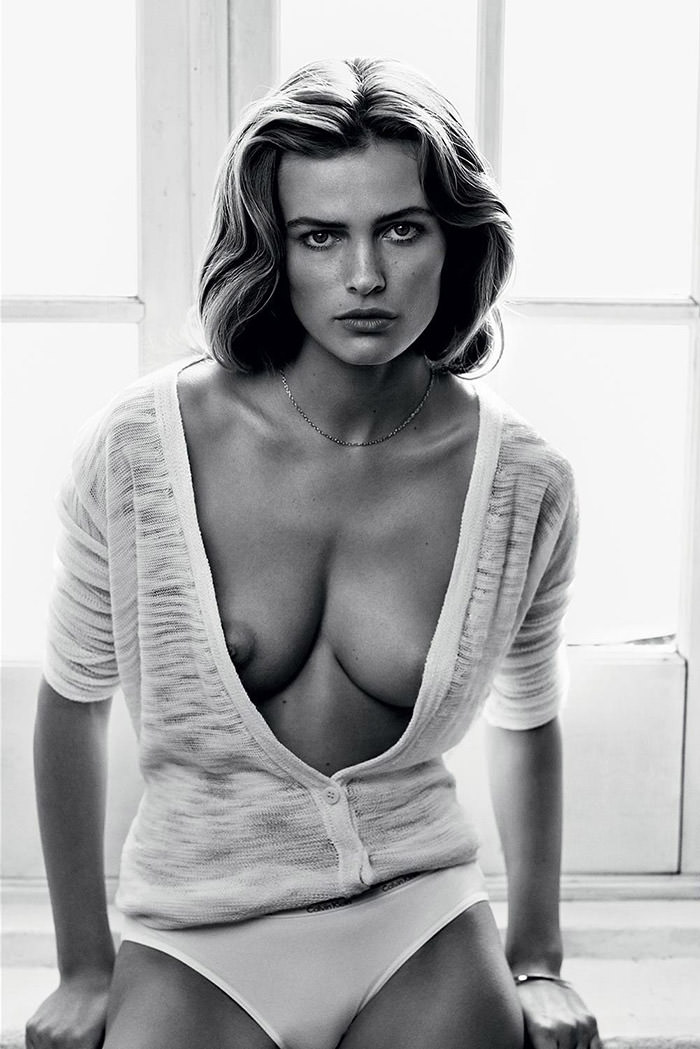 Edita Vilkeviciute by Lachlan Bailey for Industrie