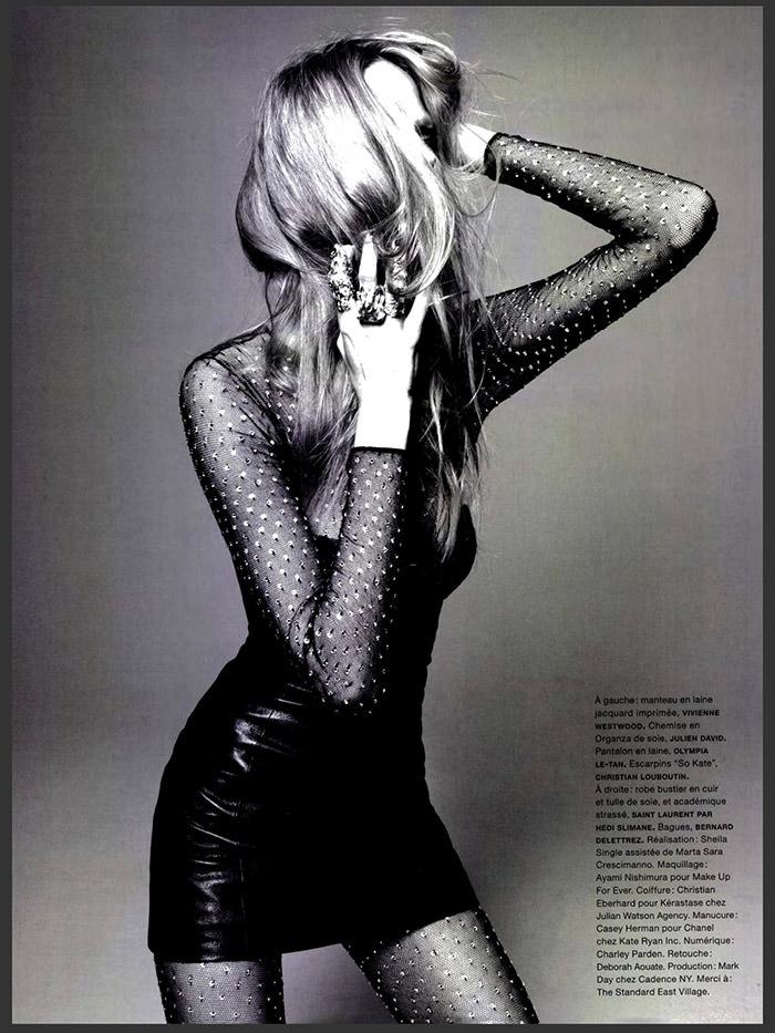 Elisabeth Erm photographed by Jason Kibbler for Numéro #146, September 2013