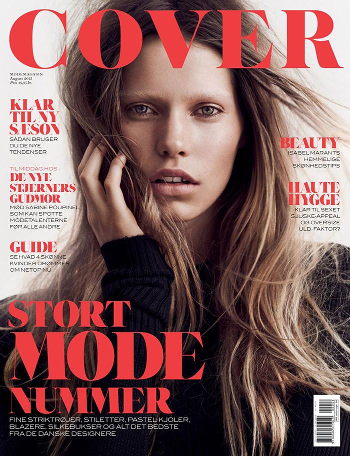Kirstin Kragh Liljegren photographed by Hasse Nielsen for Cover Denmark, August 2013