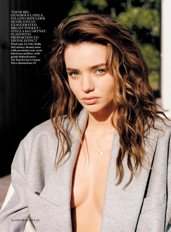Miranda Kerr by Alasdair McLellan for Vogue UK