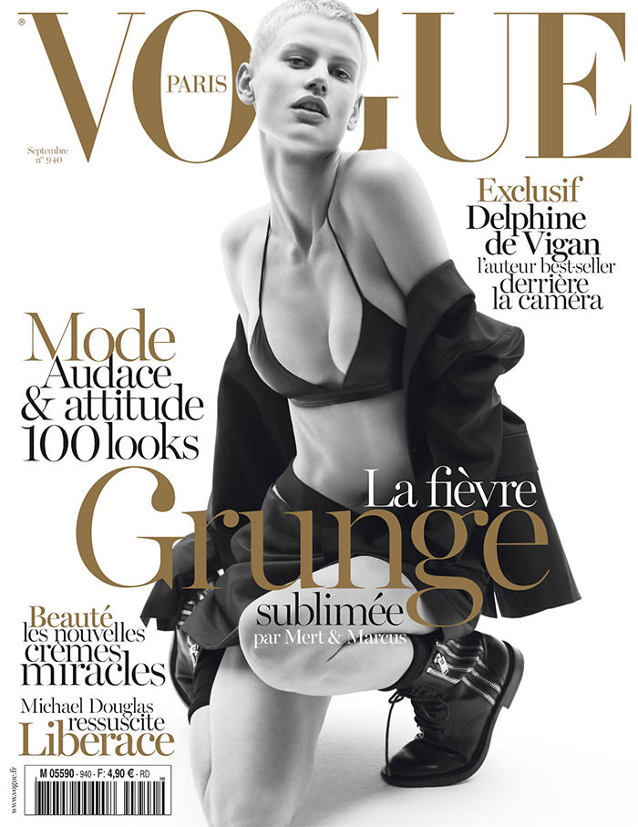 Saskia De Brauw covers Vogue Paris