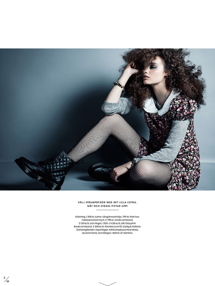 Signe Belfiore by Eric Broms for Elle Sweden