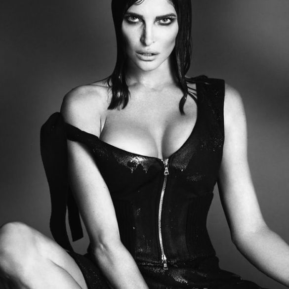Stephanie Seymour by Mert & Marcus for Interview