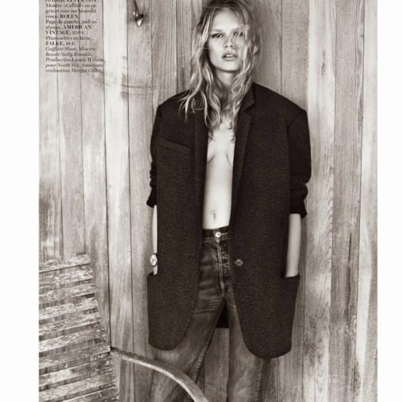 Anna Ewers By Josh Olins For Vogue Paris