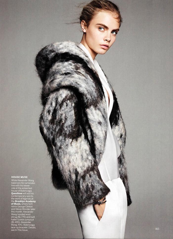 Cara Delevingne by Karim Sadli for Vogue