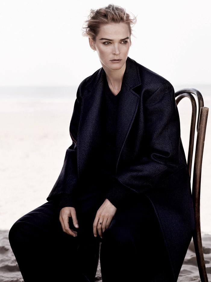 Carmen Kass photographed by Ben Weller for Harper's Bazaar UK, September 2013