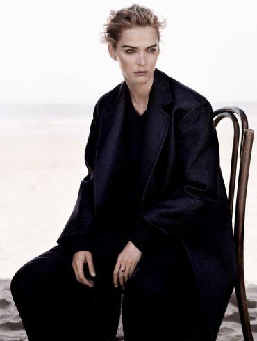 Carmen Kass photographed by Ben Weller for Harper's Bazaar UK, September 2013 1