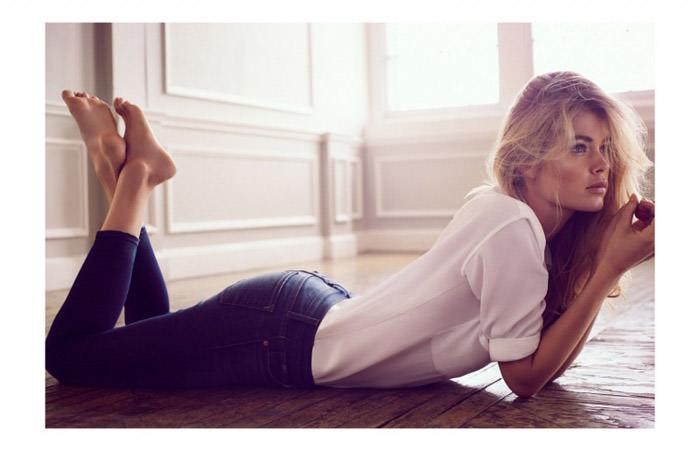 Doutzen Kroes by Will Davidson for Telegraph Fashion
