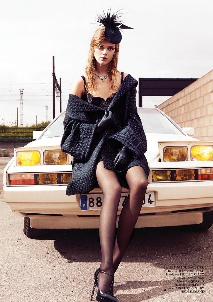Frida Gustavsson by Billy Nava for Glass Magazine
