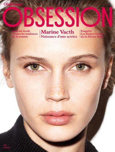 Marine Vacth covers Obsession Magazine 1