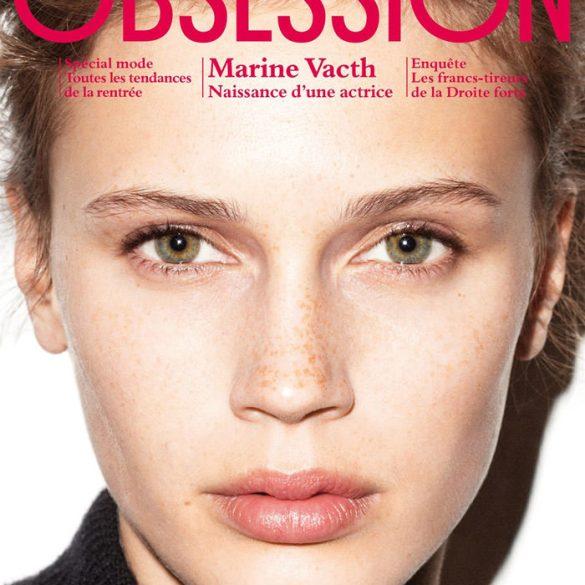 Marine Vacth covers Obsession Magazine 1