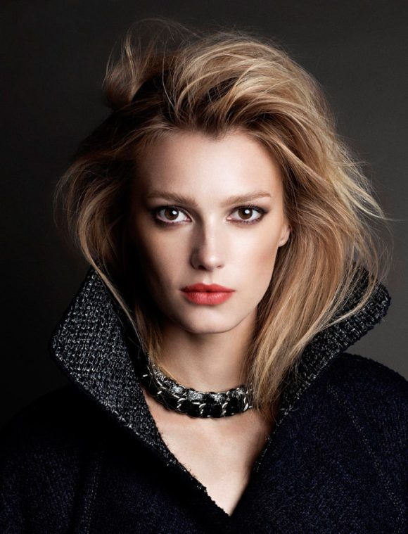 Sigrid Agren and Malgosia Bela by Victor Demarchelier for L'Express Styles