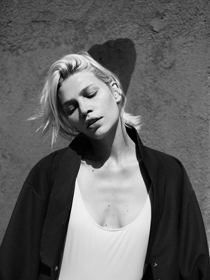 Aline Weber by Annemarieke van Drimmelen for Rika Magazine