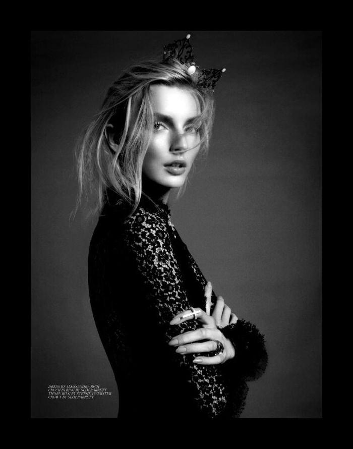 Eva Staudinger by Jenny Brough for StyleNoir