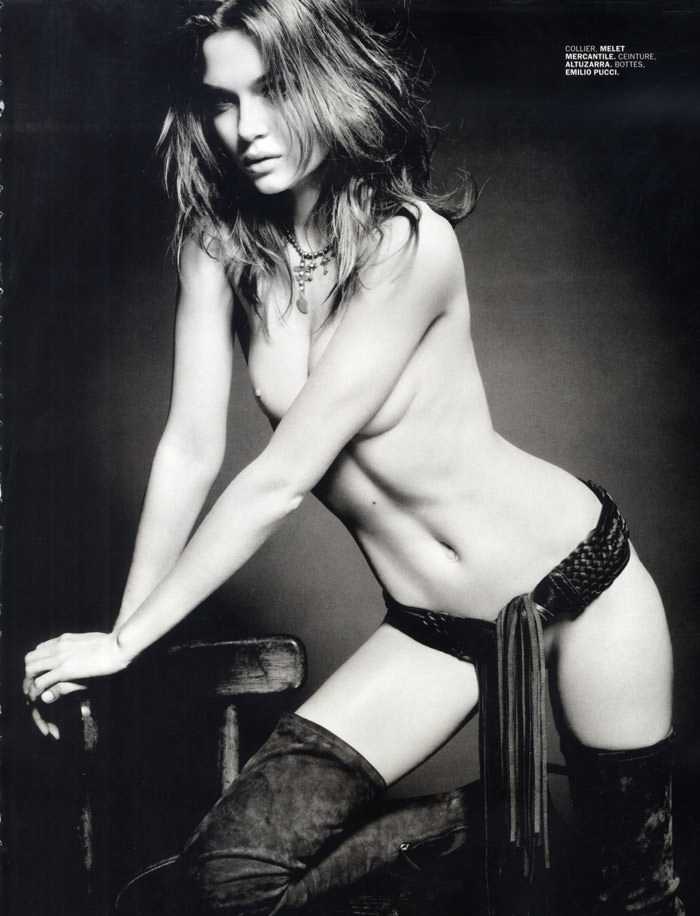 Josephine Skriver by Tom Munro for Lui Magazine