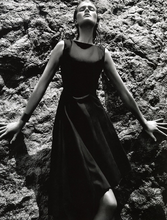 Toni Garrn by Daniel Jackson for Dior Magazine