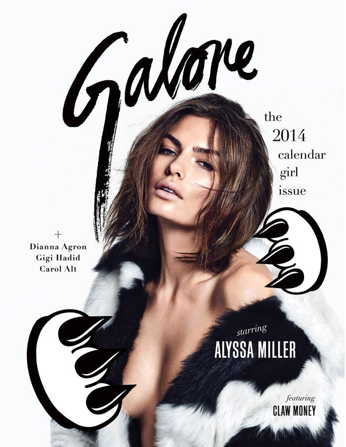 Alyssa Miller by James Macari for Galore Magazine