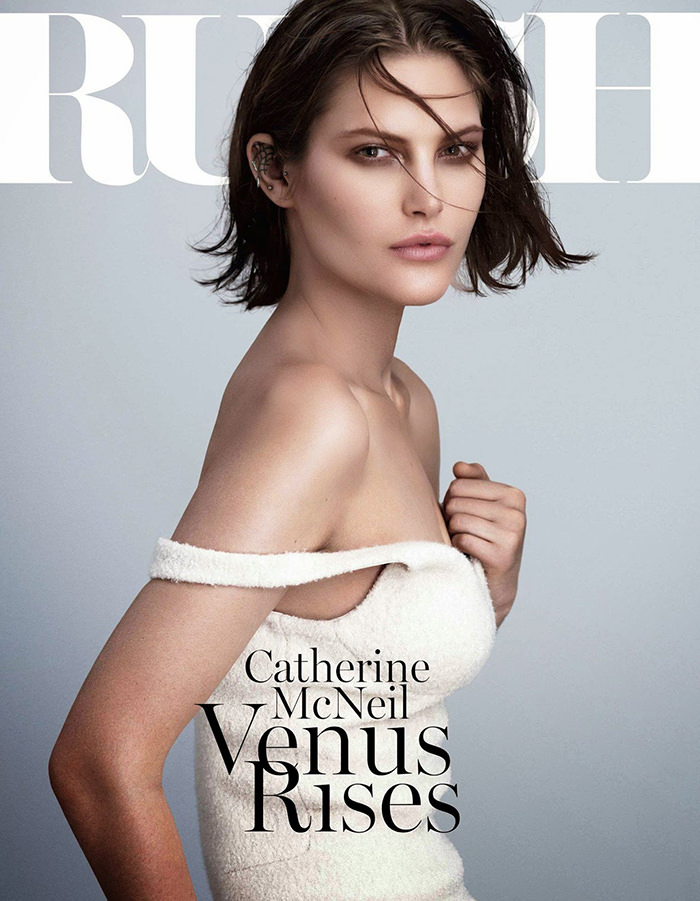 Catherine McNeil covers Russh