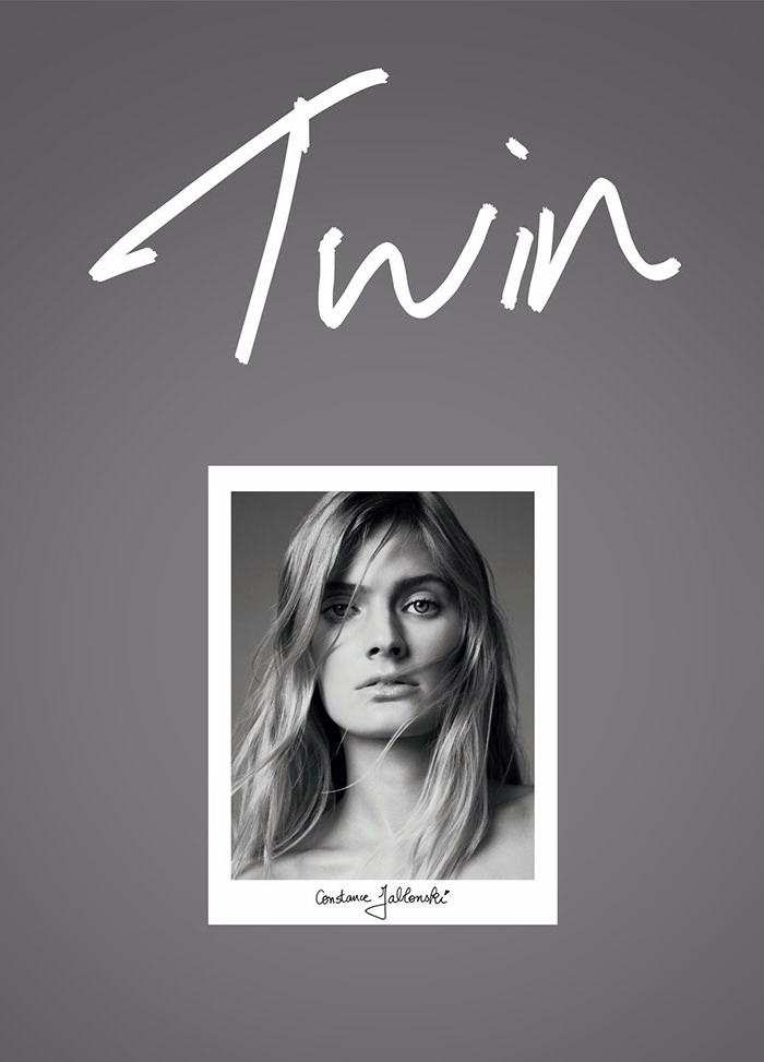 Constance Jablonski covers Twin Magazine