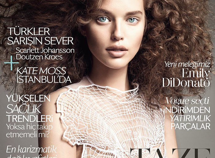 Emily DiDonato by Terry Tsiolis for Vogue Turkey