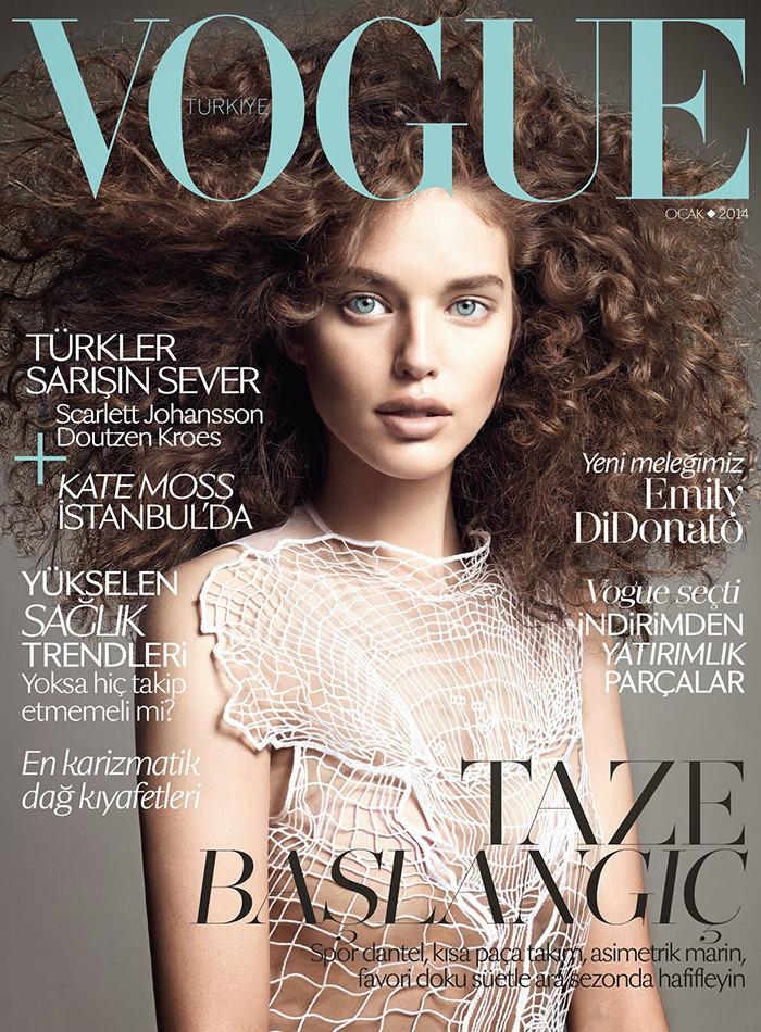 Emily DiDonato by Terry Tsiolis for Vogue Turkey