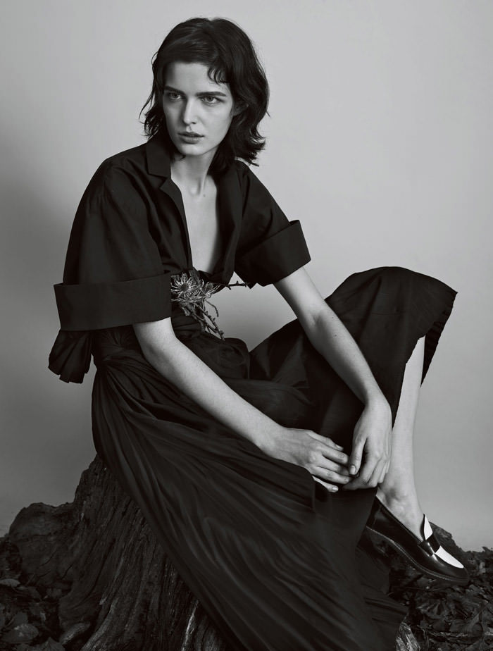 In The Fold by Josh Olins for Vogue UK