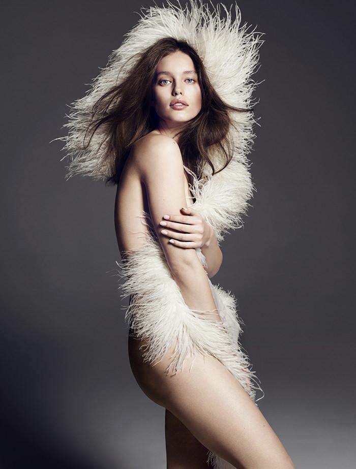 Emily DiDonato photographed by Paola Kudacki for Vamp Magazine No. 1