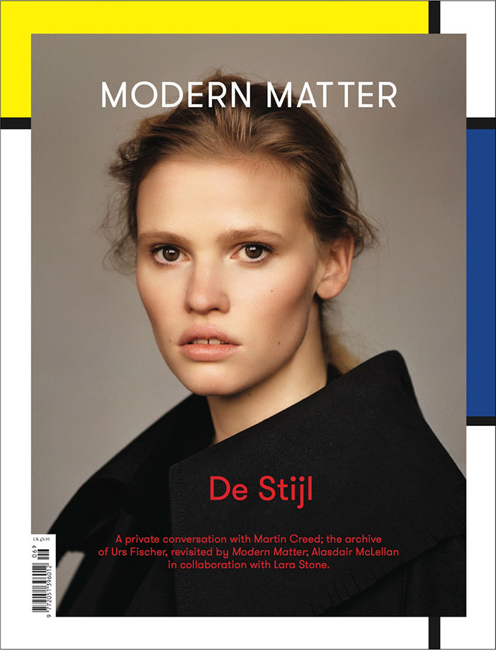 Lara Stone covers Modern Matter