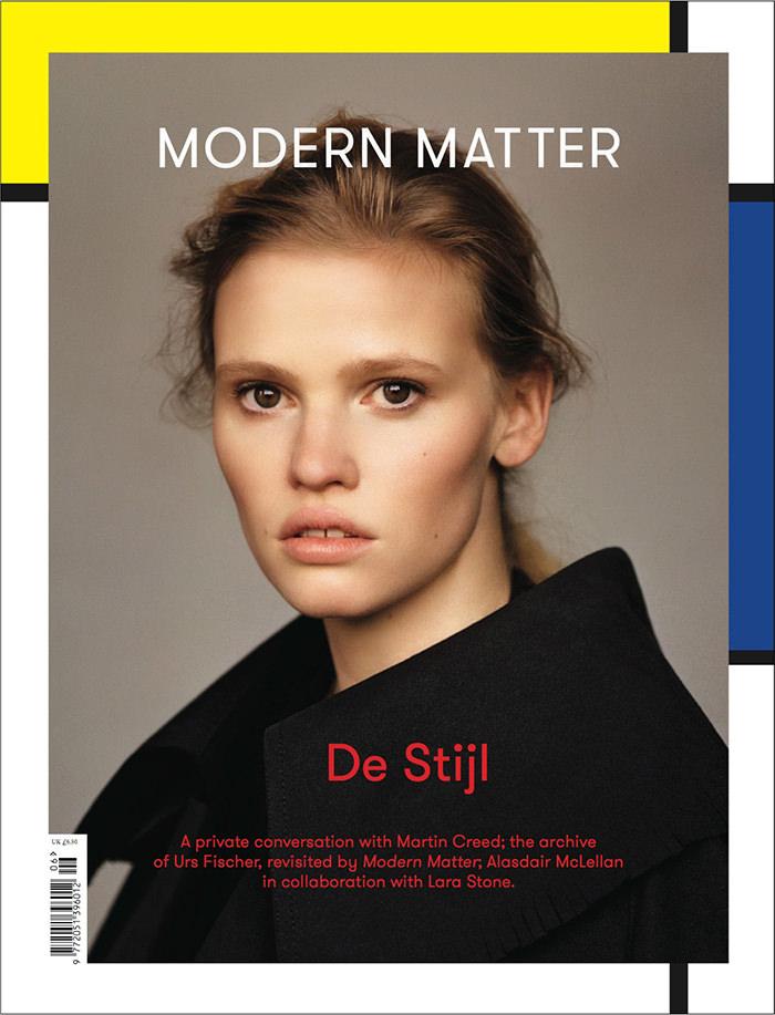 Lara Stone by Alasdair McLellan for Modern Matter