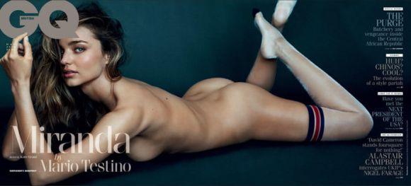 Miranda Kerr by Mario Testino for GQ UK