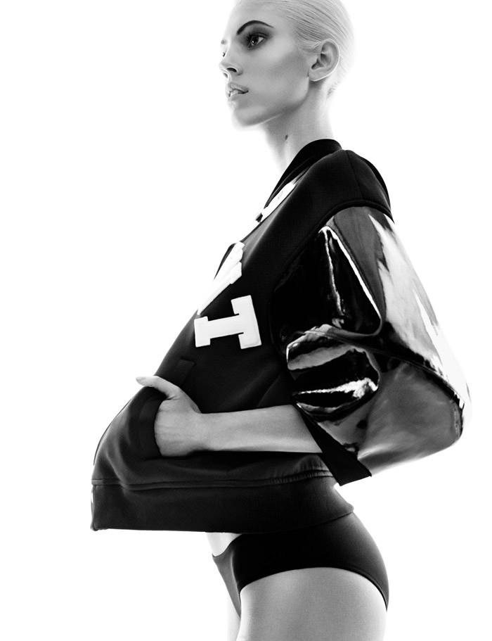 Devon Windsor photographed by Greg Kadel for Vogue Germany, May 2014