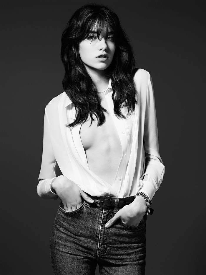Saint Laurent Pre-Fall 2014: Grace Hartzel photographed by Hedi Slimane