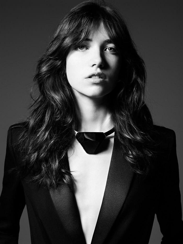 Grace Hartzel by Hedi Slimane for Saint Laurent Pre-Fall 2014