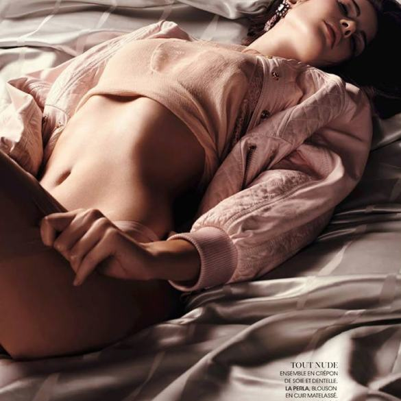 Monica Cima photographed by Naomi Yang for Madame Figaro