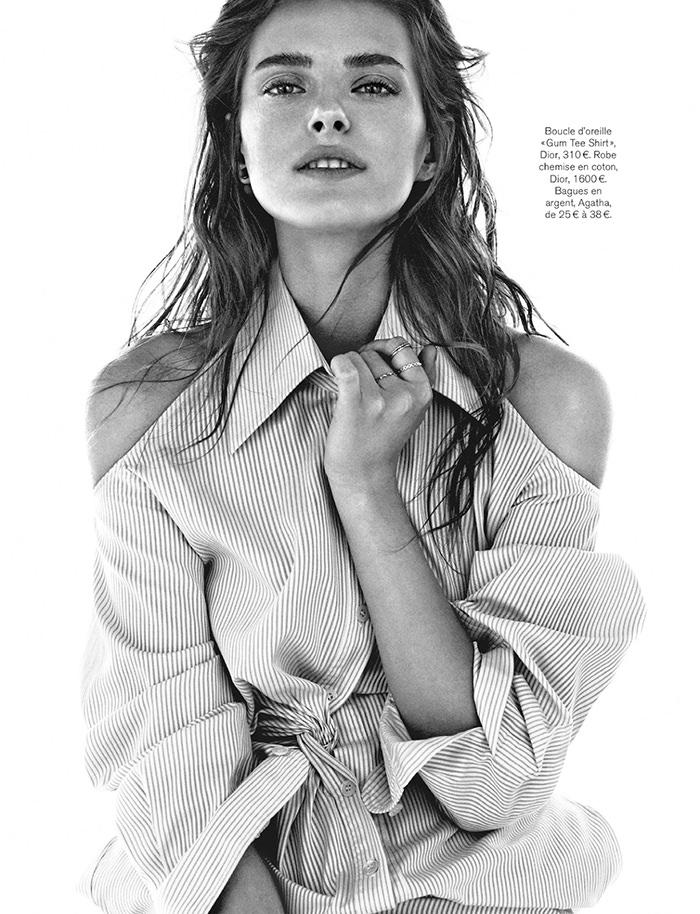 Vlada Saulchenkova by Alvaro Beamud Cortes for Glamour France