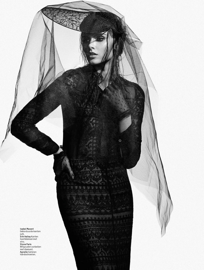 Zuzana Gregorova by Baard Lunde for L'Officiel Netherlands