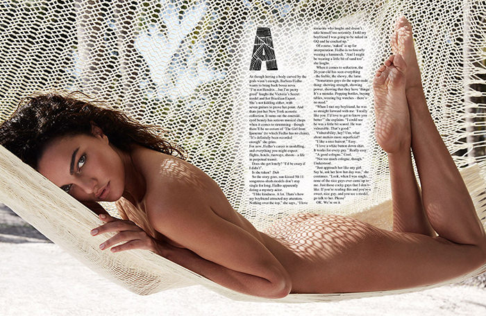 Barbara Fialho by Gavin O'Neill for GQ Australia