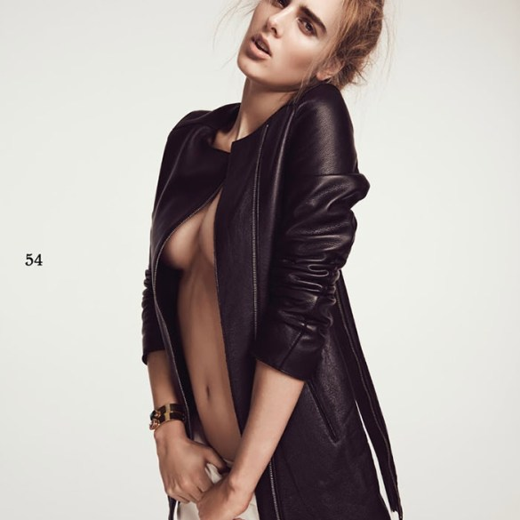 Tamara Weijenberg by Andreas Ortner for Simply Magazine