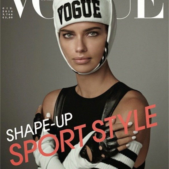 Adriana Lima by Steven Meisel for Vogue Italy