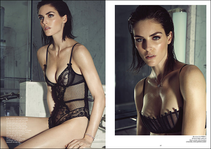 Hilary Rhoda photographed by James Houston for Glass Magazine #17