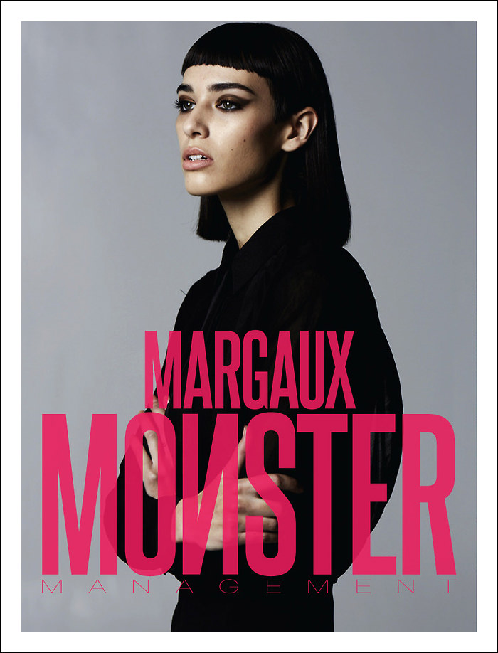 Comp Card: Margaux Brooke at Monster Management