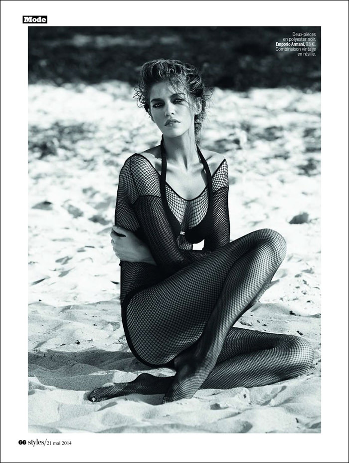 Samantha Gradoville by Alique for L'express Styles