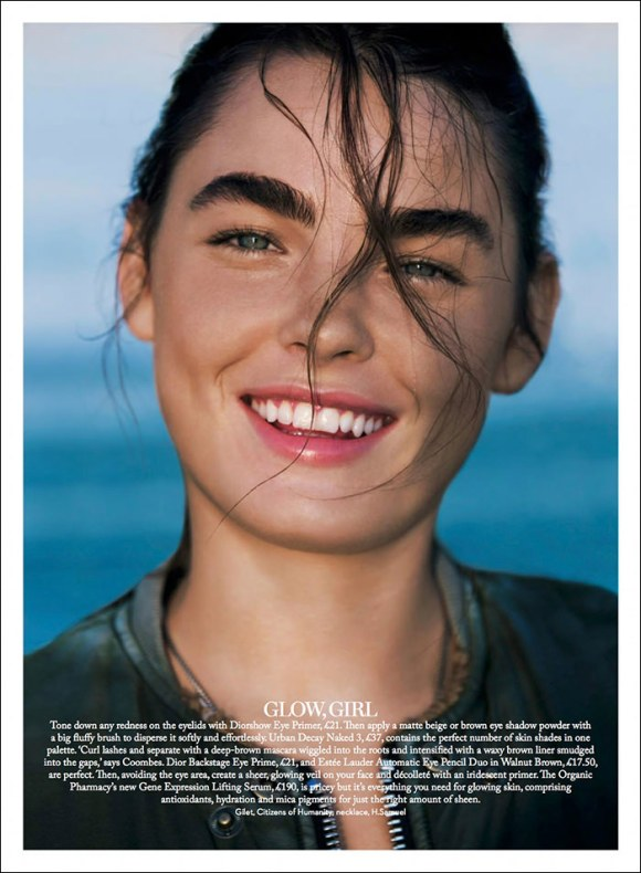 Bambi Northwood-Blyth by Enrique Badulescu for Marie Claire UK