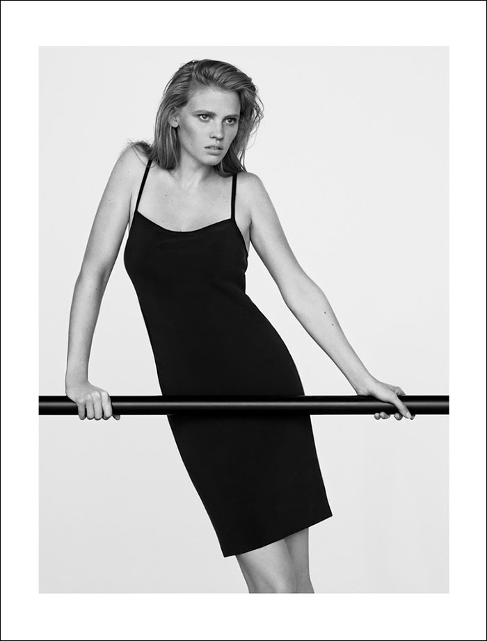 Lara Stone photographed by Ben Weller for The Edit by Net-A-Porter, July 2014