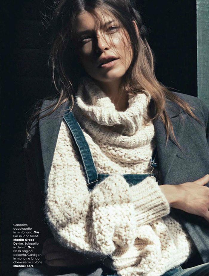 Louise Pedersen by Signe Vilstrup for Glamour Italia