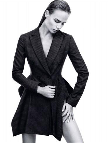 Natasha Poly by Daniel Jackson for Harper's Bazaar